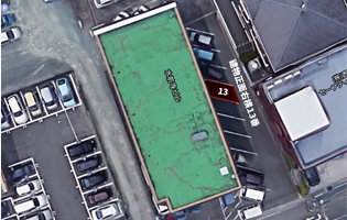 駐車場も完備しております(熊本県中央区)